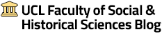 UCL Faculty of Social & Historical Sciences Blog logo